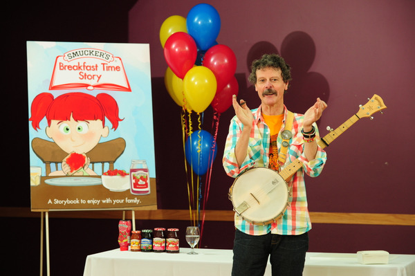 Author Ted Staunton at a recent event.